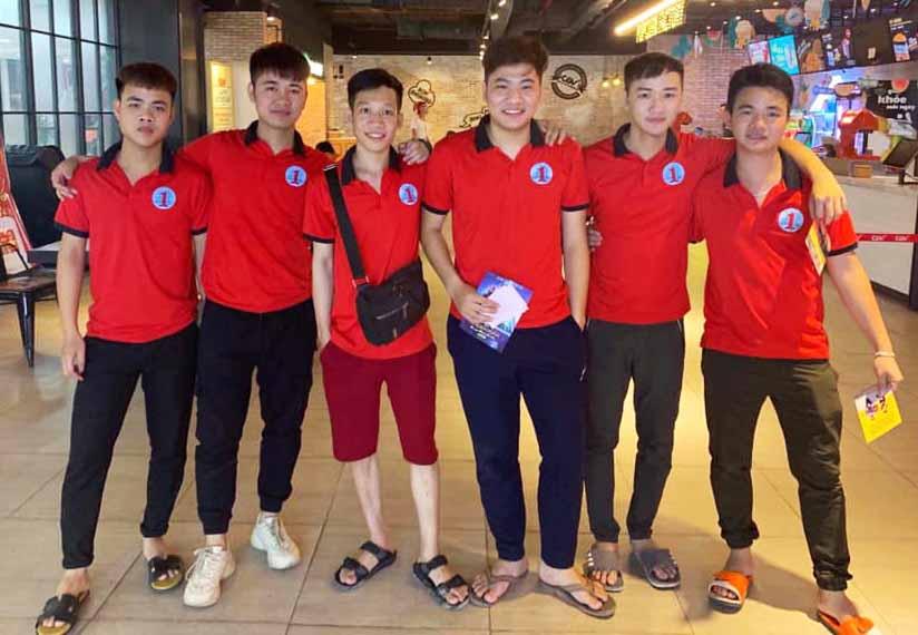 Team học viên tại Di Động Toàn Cầu