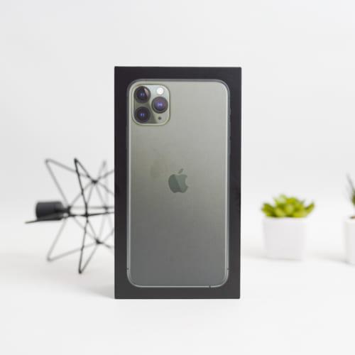 Đập hộp iPhone 11 Pro Max 256GB Midnight Green tại Việt Nam
