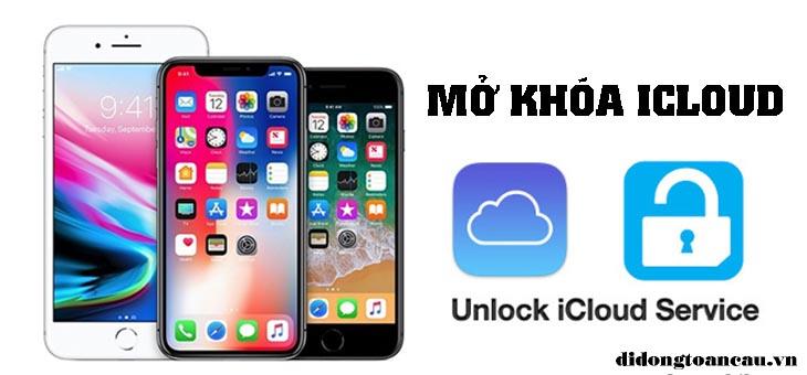 Mở khóa icloud iPhone iPad nhanh rẻ uy tín 465 Trương Định Hoàng Mai Hà Nội banner