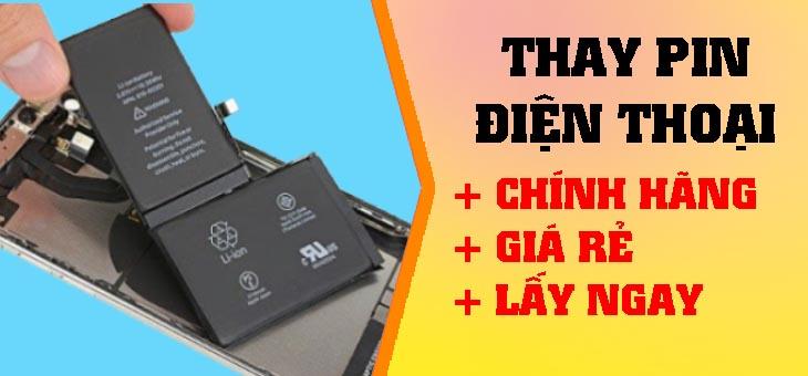 Thay pin điện thoại giá rẻ lấy ngay DI ĐỘNG TOÀN CẦU banner