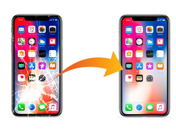 Thay mặt kính iPhone x XR XS XS MAX giá rẻ lấy ngay