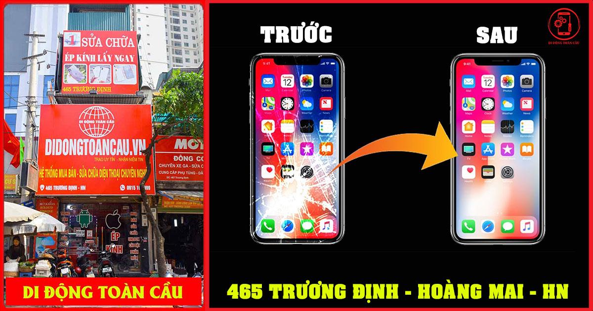 Cửa hàng sửa chữa điện thoại đường Trương Định Tân Mai Hoàng Mai
