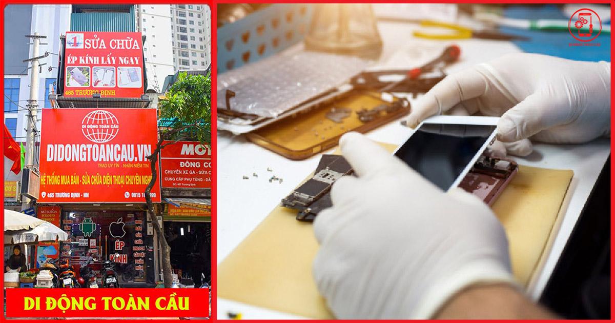 Cửa hàng sửa chữa điện thoại tại Trương Định Tân Mai Hoàng Mai Hà Nội