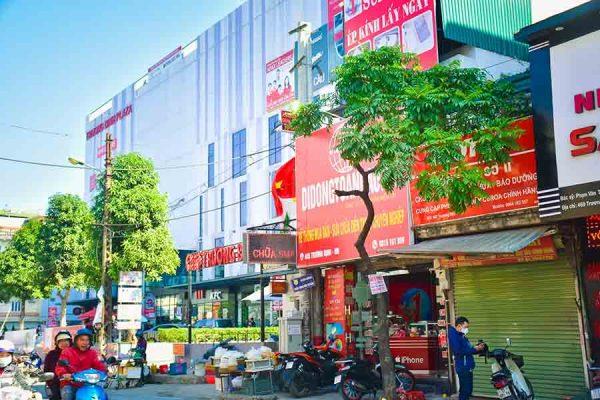 Cửa hàng sửa chữa điện thoại tại Hoàng Mai