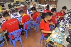 Cửa hàng sửa chữa điện thoại tai Tân Mai Hoàng Mai 3