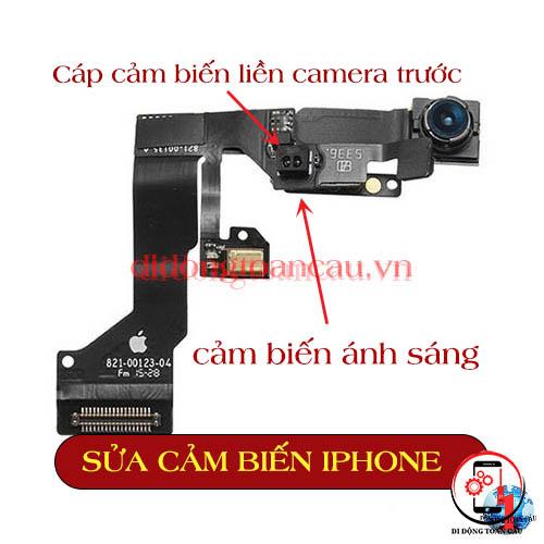 Sửa lỗi cảm biến ánh sáng iPhone