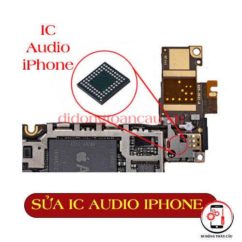 Sửa IC audio iphone Xs