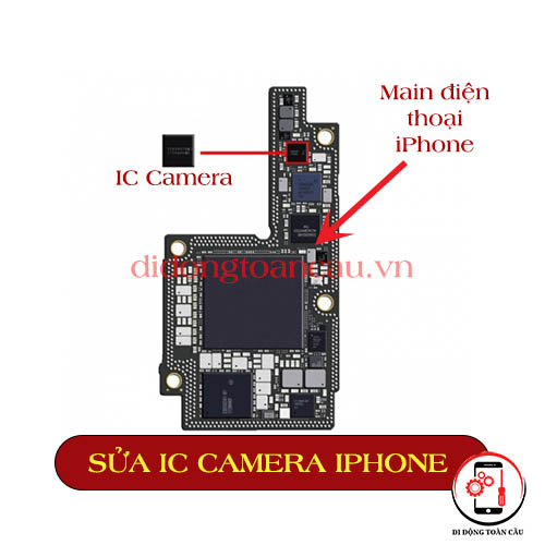 Sửa IC Camrara iPhone 5S