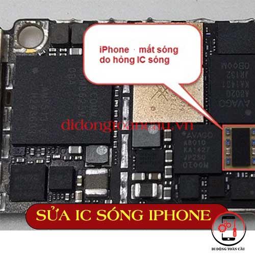 Sửa IC sóng iPhone 5 6 7 8 x 11 12