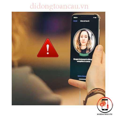 Sửa lỗi mất Face ID trên iPhone
