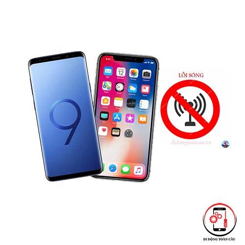 sửa lỗi sóng điện thoại iphone
