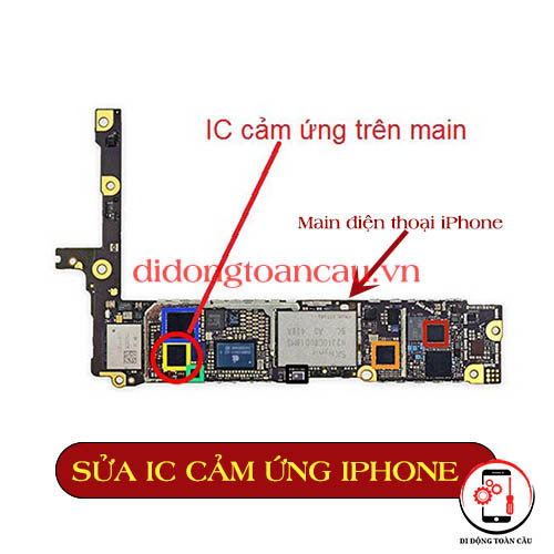 Thay IC cảm ứng iPhone 6S plus