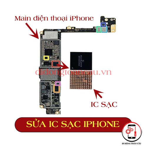 Sửa IC sạc iPhone 6 plus