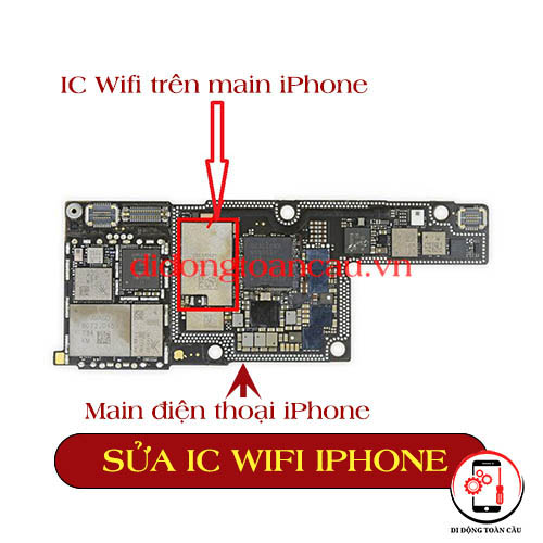 Sửa IC wifi iphone 5s