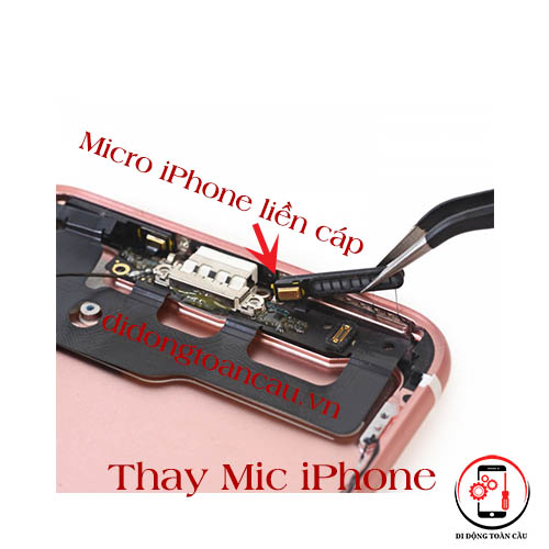 Thay mic iPhone 8 plus
