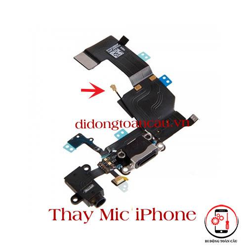 Thay mic iPhone XR
