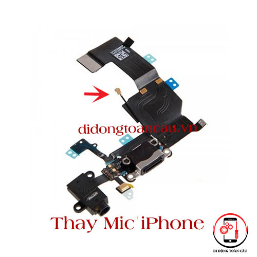 Thay mic iPhone 11