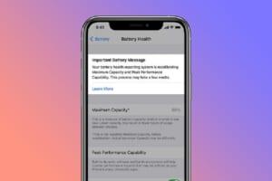 Cách hiệu chỉnh để tối ưu pin iPhone 11 trên ios 14.5