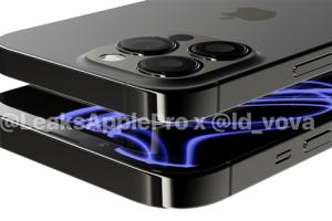 Bản thiết kế mới nhất của iPhone 13