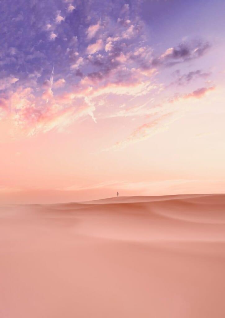 DUNESCAPE desert wallpaper for iPhone jstngraphics idownloadblog day purple 768x1085 1