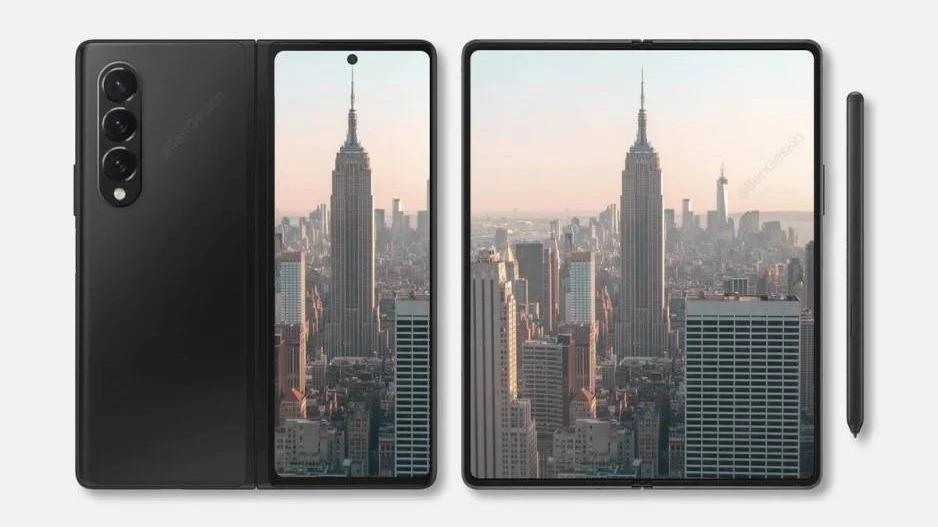 Samsung Galaxy Z Fold 3 and Z Fl