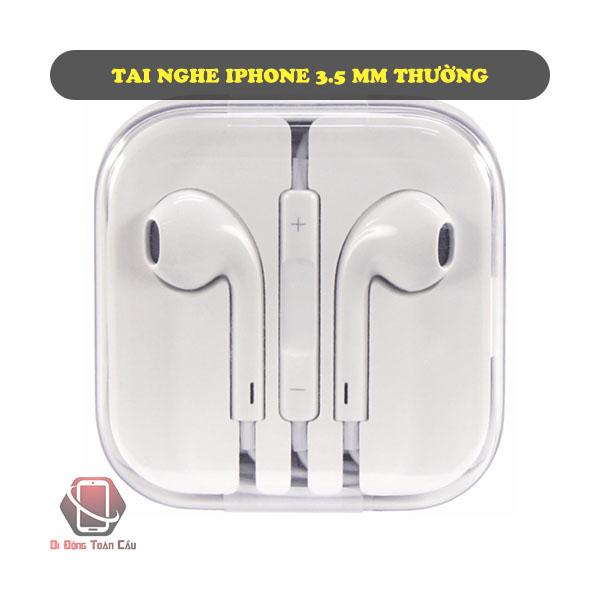Tai nghe iPhone 3.5mm thường