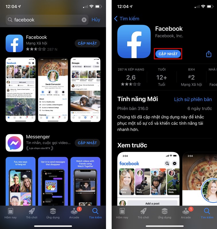 cach bat bong bong chat facebook messenger iphone 1 2303x2435 800 resize