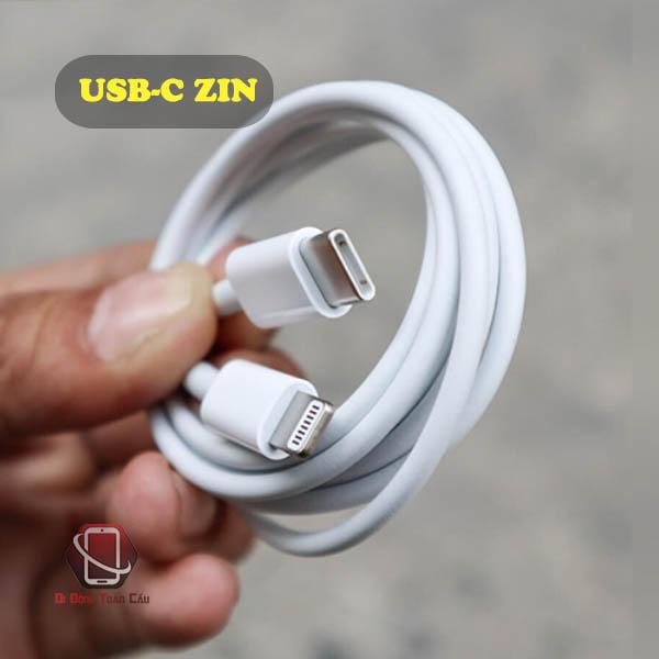 Cáp sạc iPhone USB-C zin bóc máy