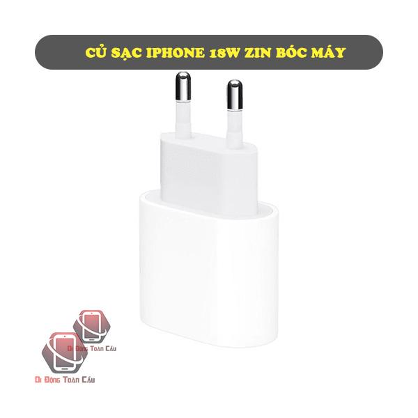 Củ sạc iPhone USB-C zin bóc máy