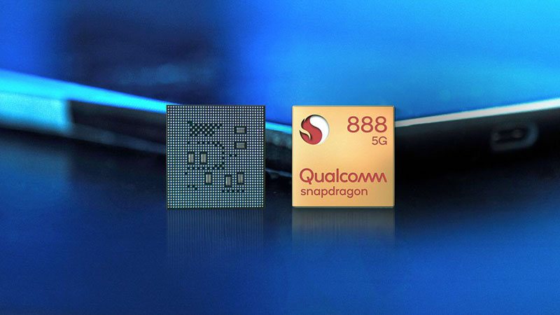 snapdragon 888 front chip in