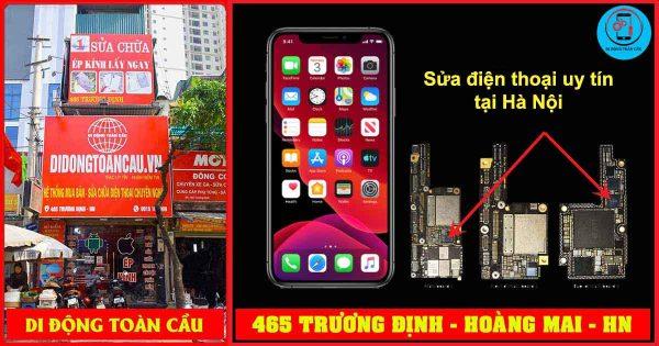 Sửa điện thoại gần đây uy tín tại Hà Nội