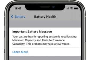 Người dung iPhone sẽ được thay pin miễn phí nếu nhận được thông báo này