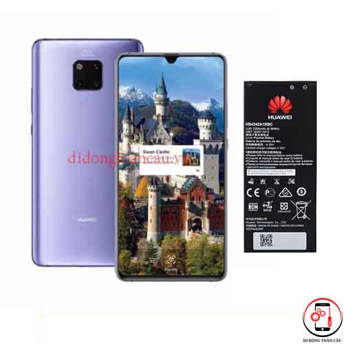 Thay pin Huawei Mate 20x