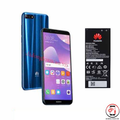 Thay pin Huawei Y7 Prime 2019