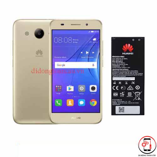 Thay pin Huawei Y3 2017