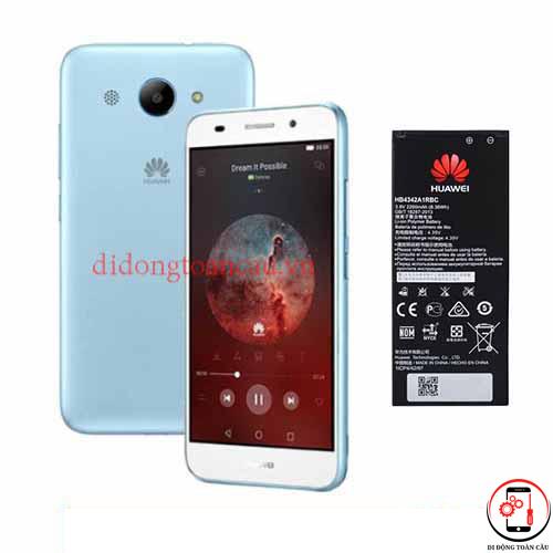 Thay pin Huawei Y3 2018