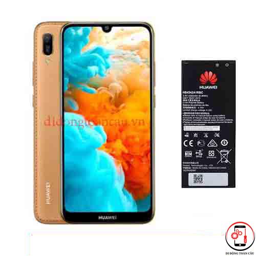 Thay pin Huawei Y6 2019