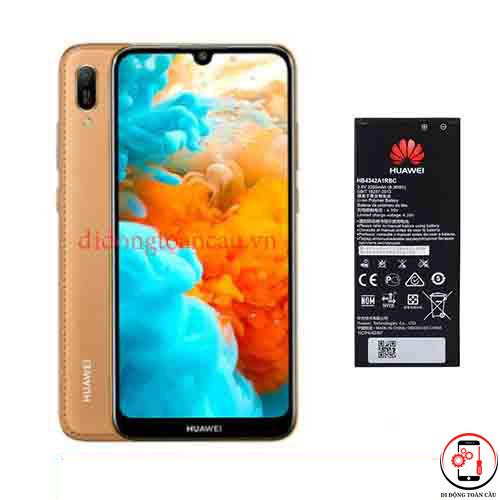 Thay pin Huawei Y6 Pro 2019