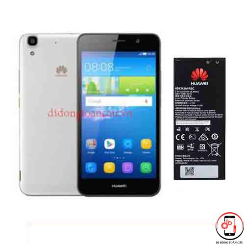 Thay pin Huawei Y6
