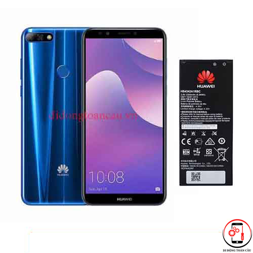 Thay pin Huawei Y7 Prime 2018