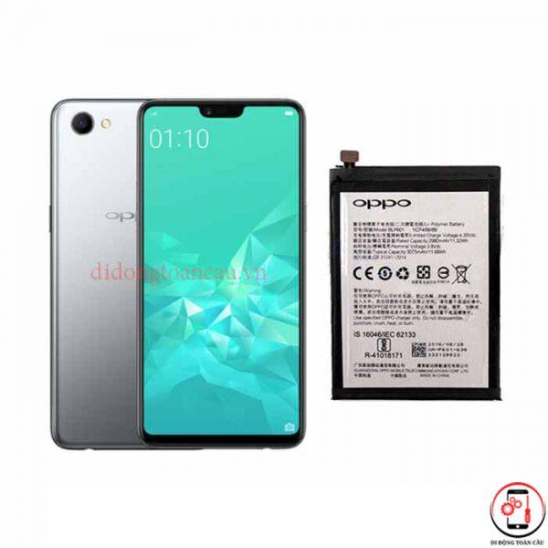 Thay pin Oppo A3