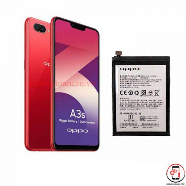 Thay pin Oppo A3s