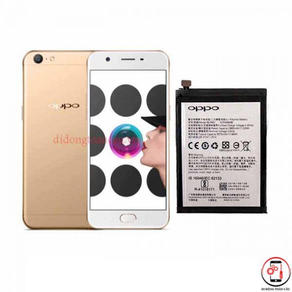 Thay pin Oppo A57 F3 Lite