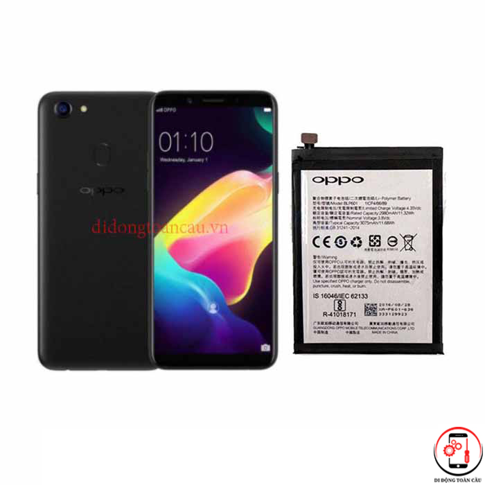 Thay pin Oppo F5 Youth