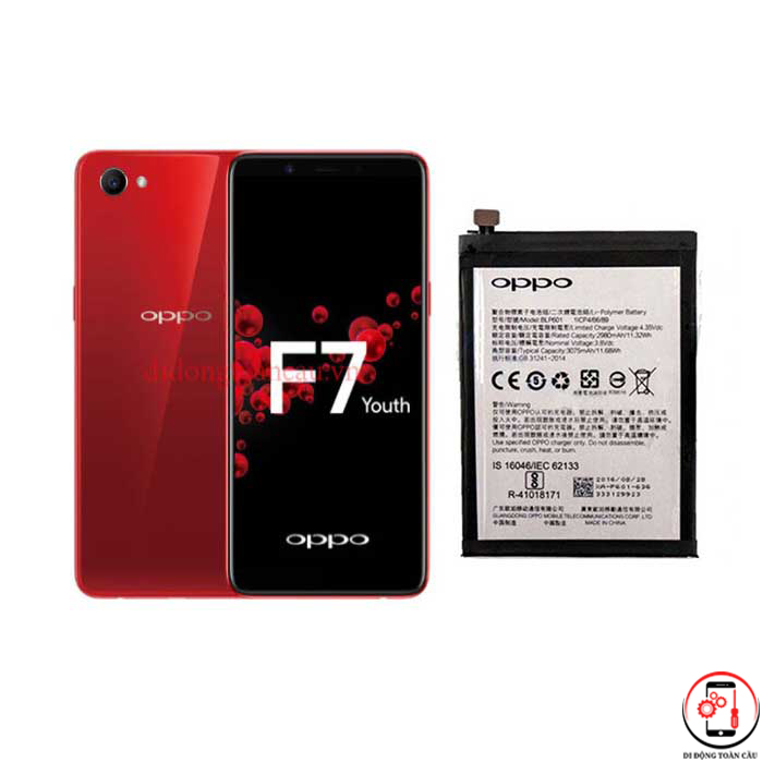 Thay pin Oppo F7 Youth