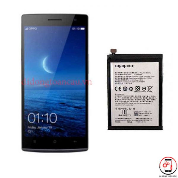 Thay pin Oppo Find 7