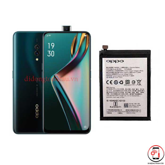 Thay pin Oppo K3