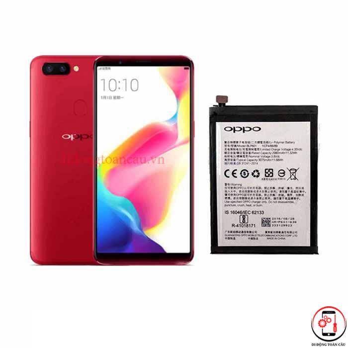 Thay pin Oppo R11s Plus