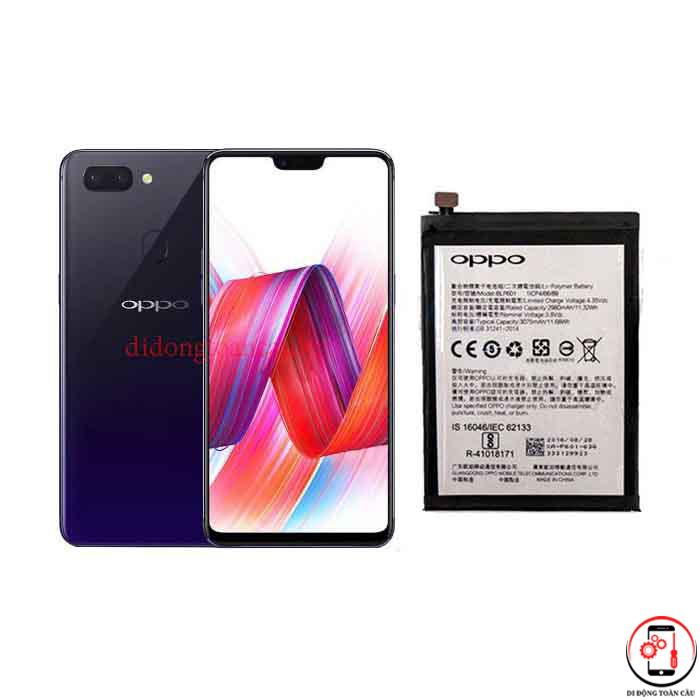 Thay pin Oppo R15 Pro