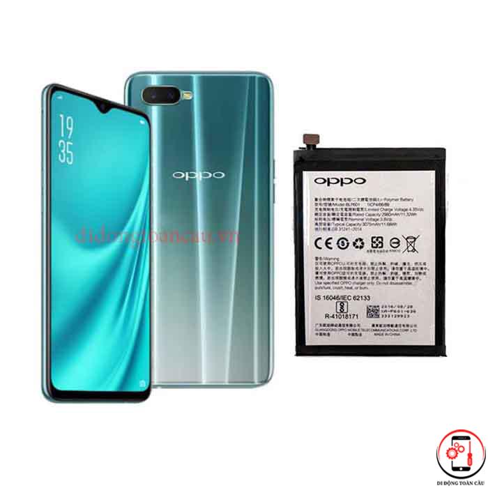 Thay pin Oppo R15x